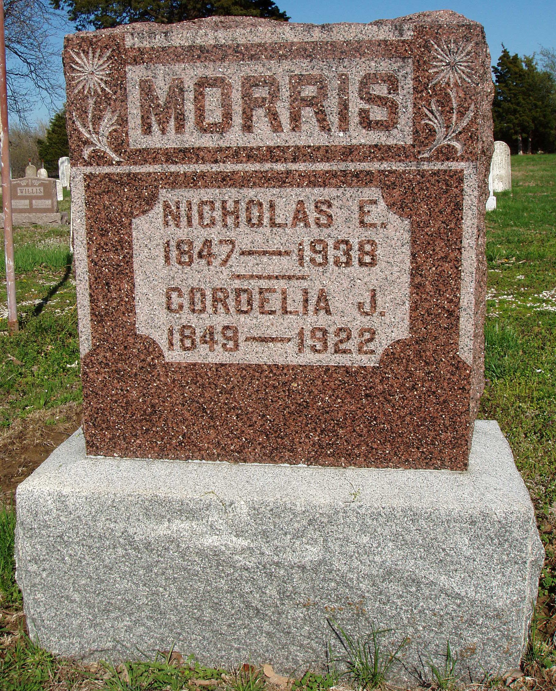 8, 10, Morris, Nicholas E